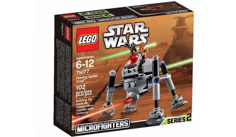 LEGO STAR WARS MICROFIGHTERS - 75077 - Homing Spider Droid 75077010