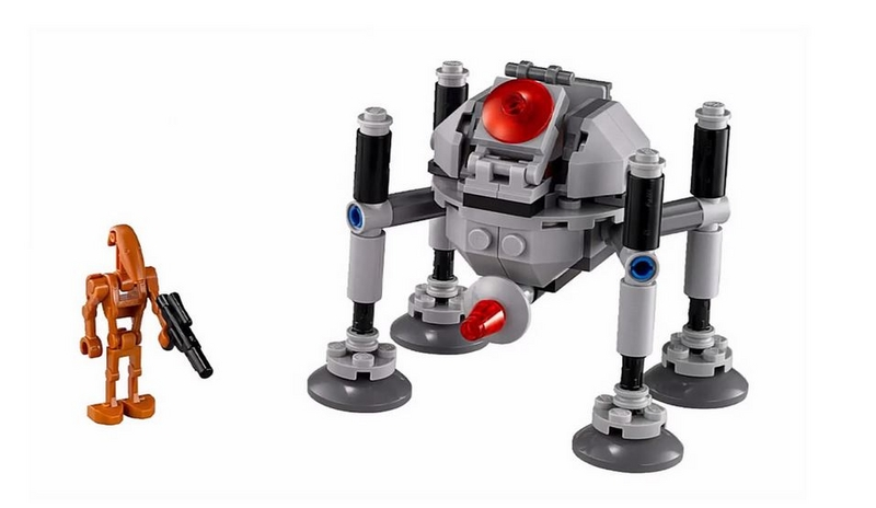 LEGO STAR WARS MICROFIGHTERS - 75077 - Homing Spider Droid 75077011