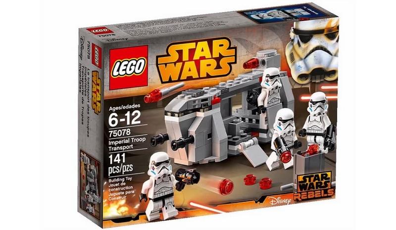 LEGO STAR WARS REBELS - 75078 - Imperial Troop Transport 75078012