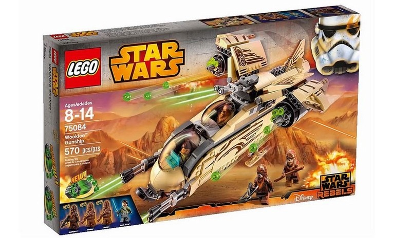 LEGO STAR WARS REBELS - 75084 - Wookiee Gunship 75080015