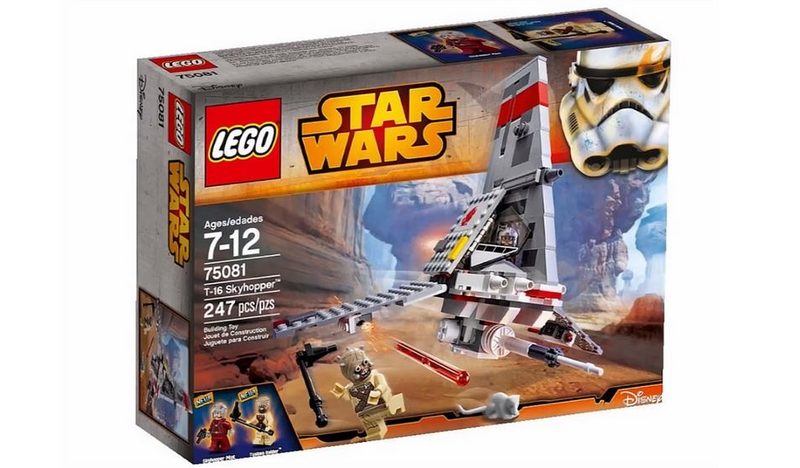 LEGO STAR WARS - 75081 - T-16 Skyhopper 75081014