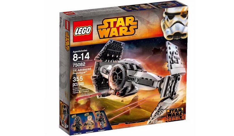 LEGO STAR WARS REBELS - 75082 - TIE Advanced Prototype 75082018