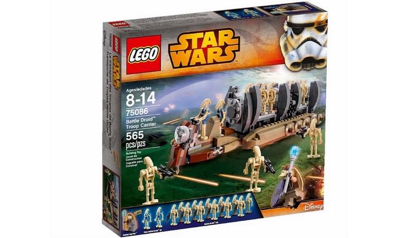 LEGO STAR WARS - 75086 - Battle Troop Droid Carrier 75086010