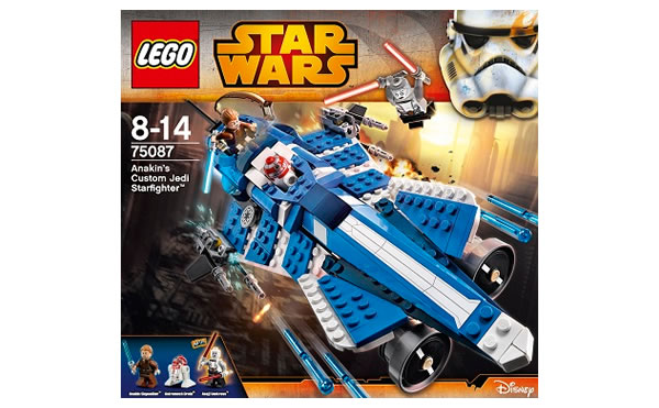 LEGO STAR WARS - 75087 - Anakin's Custom Jedi Starfighter 75087010
