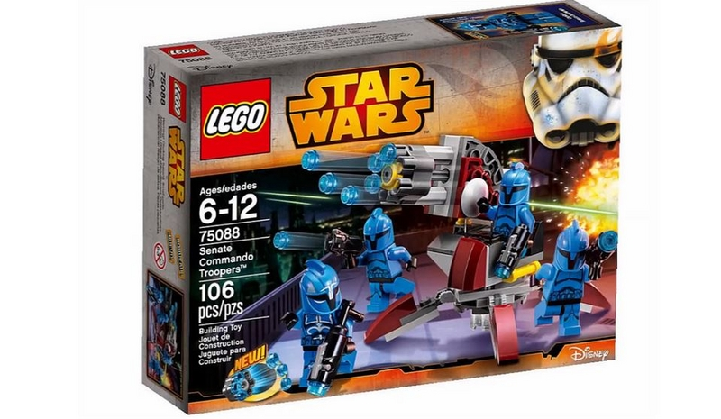 LEGO STAR WARS - 75088 - Senate Commando Troopers 75088011