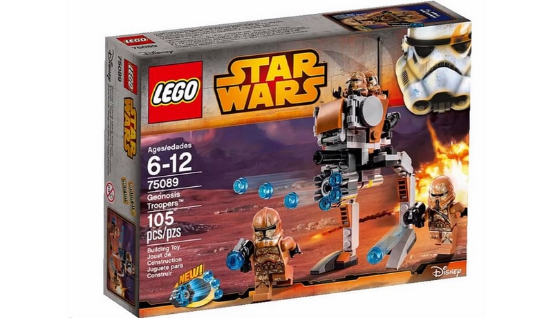 LEGO STAR WARS - 75089 - Geonosis Troopers 75089013