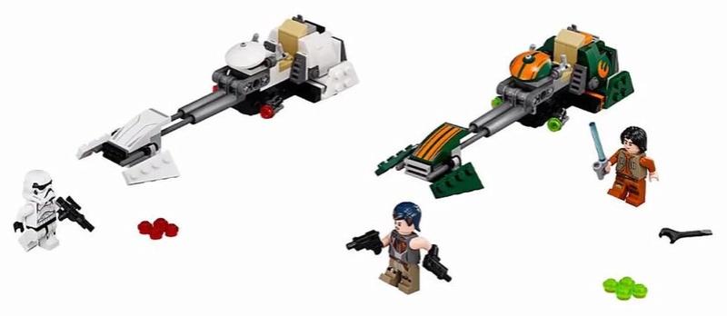 LEGO STAR WARS REBELS - 75090 - Ezra's Speeder Bike 75090010