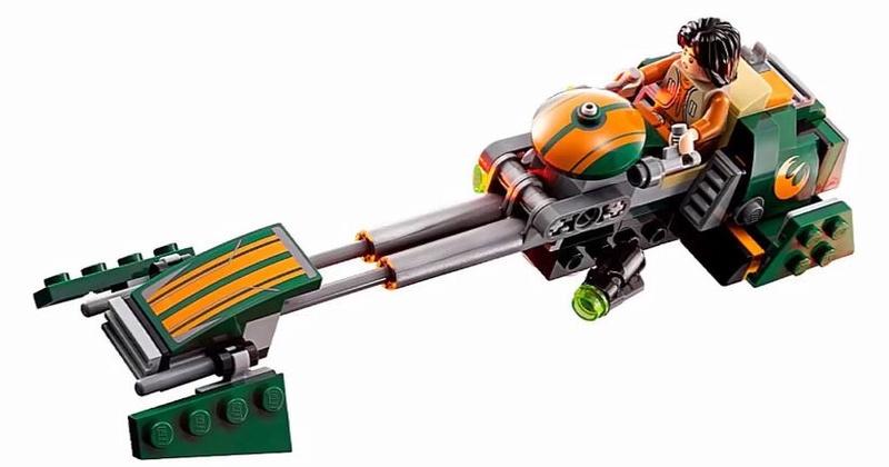 LEGO STAR WARS REBELS - 75090 - Ezra's Speeder Bike 75090013