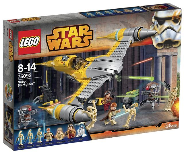 LEGO  STAR WARS - 75092 - Naboo Starfighter 75092_15