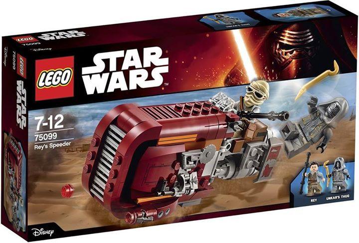 LEGO STAR WARS - 75099 - Rey's Speeder 75099_11