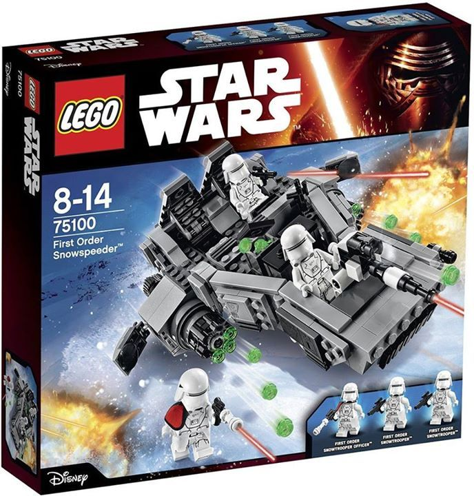 LEGO STAR WARS - 75100 - First Order Snowspeeder 75100_11