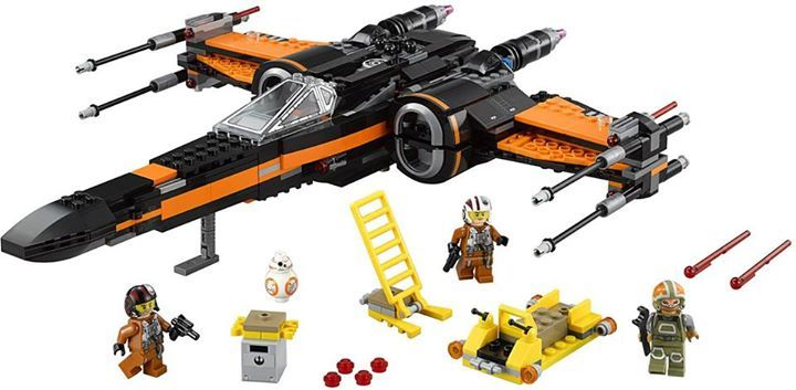 LEGO STARWARS - 75102 - Poe's X-Wing Fighter 75102_12