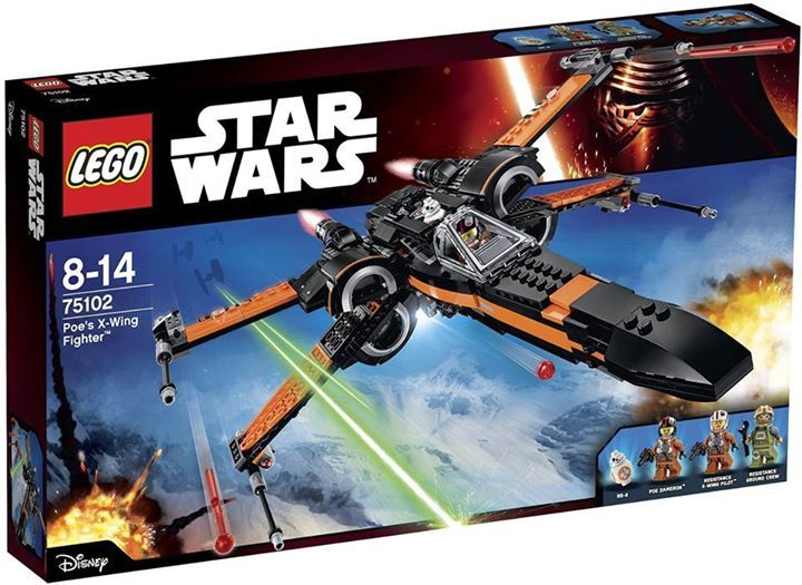 LEGO STARWARS - 75102 - Poe's X-Wing Fighter 75102_13