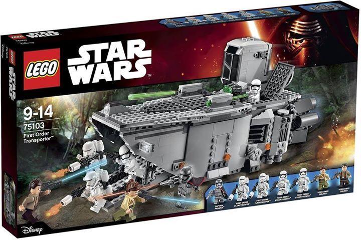 LEGO STAR WARS - 75103 - First Order Transporter 75103_11