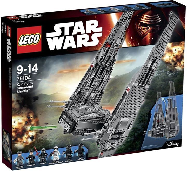 LEGO STAR WARS - 75104 - Kilo Ren's Command Shuttle 75104_10