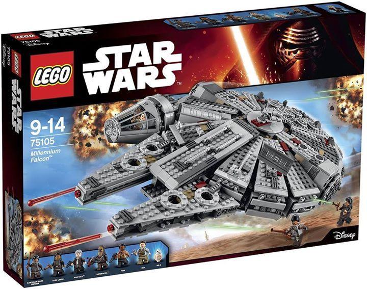 LEGO STARWARS - 75105 - Millennium Falcon 75105_13