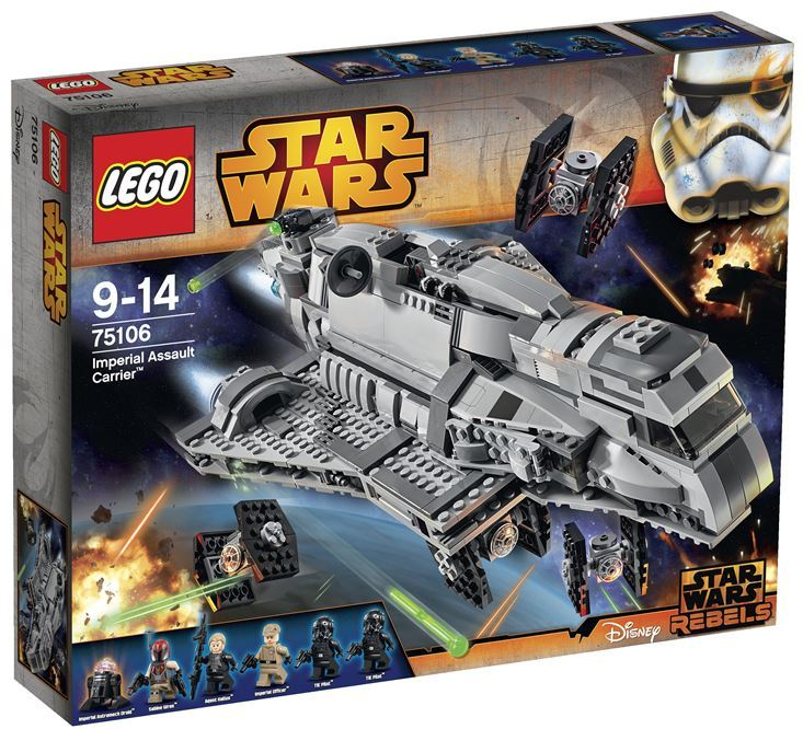 LEGO  STAR WARS - 75106 - Imperial Assault Carrier 75106_18