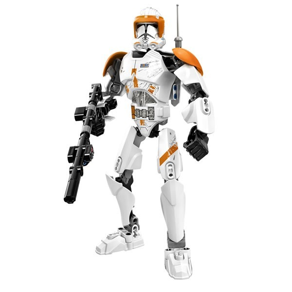 LEGO STAR WARS BATTLE FIGURES - 75108 Clone Commander Cody 75108_10