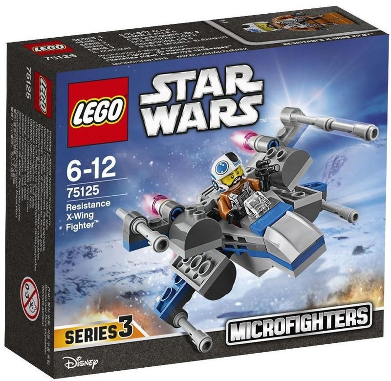 LEGO STAR WARS MICROFIGHTERS - 75125 Resistance X-Wing Fight 75125_11