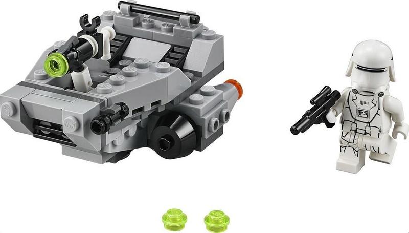 LEGO STAR WARS MICROFIGHTERS - 75126 First Order Snowspeeder 75126_10