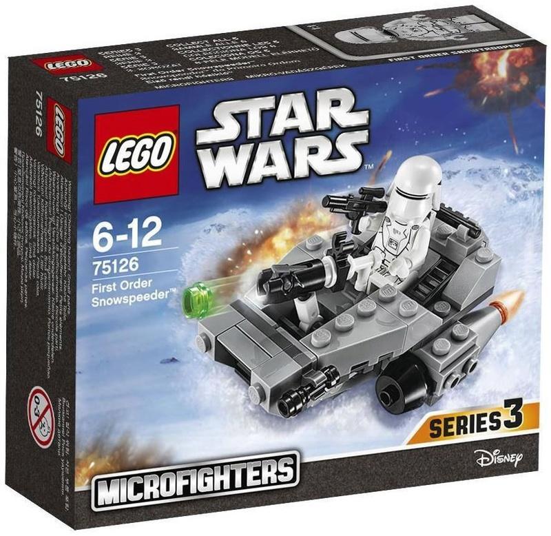 LEGO STAR WARS MICROFIGHTERS - 75126 First Order Snowspeeder 75126_11