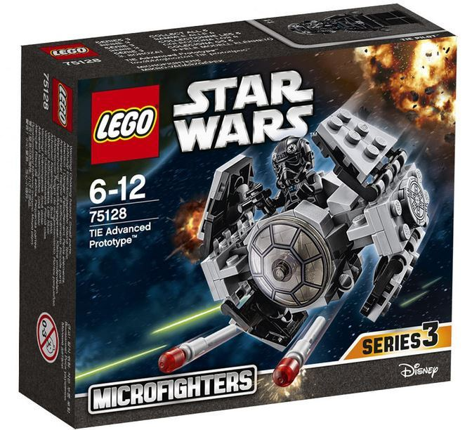 LEGO STAR WARS MICROFIGHTERS - 75128 -Tie Advanced Prototype 75128_10