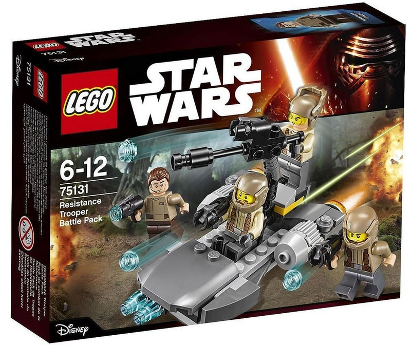LEGO STAR WARS - 75131 - Resistance Trooper Battle Pack 75131_11