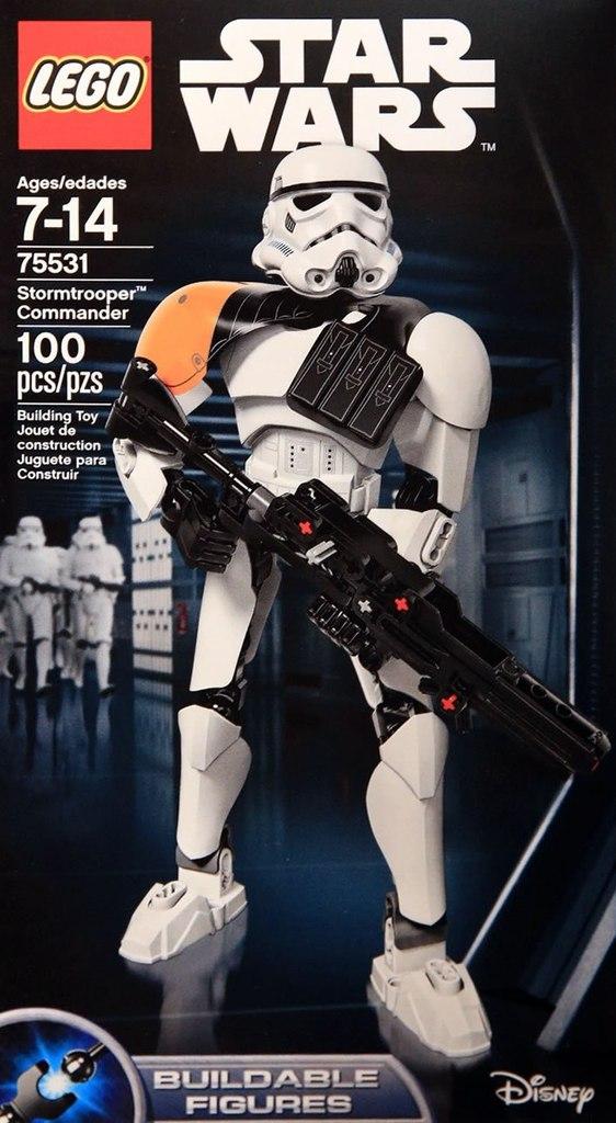 LEGO STAR WARS - 75531 - Stormtrooper Commander 75131_12