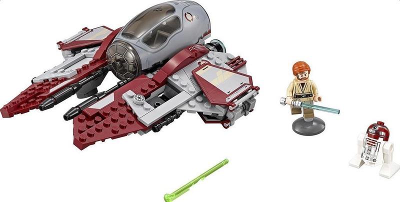 LEGO STARWARS - 75135 Obi-Wan's Jedi Interceptor 75135_11