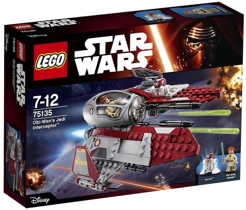 LEGO STARWARS - 75135 Obi-Wan's Jedi Interceptor 75135_12