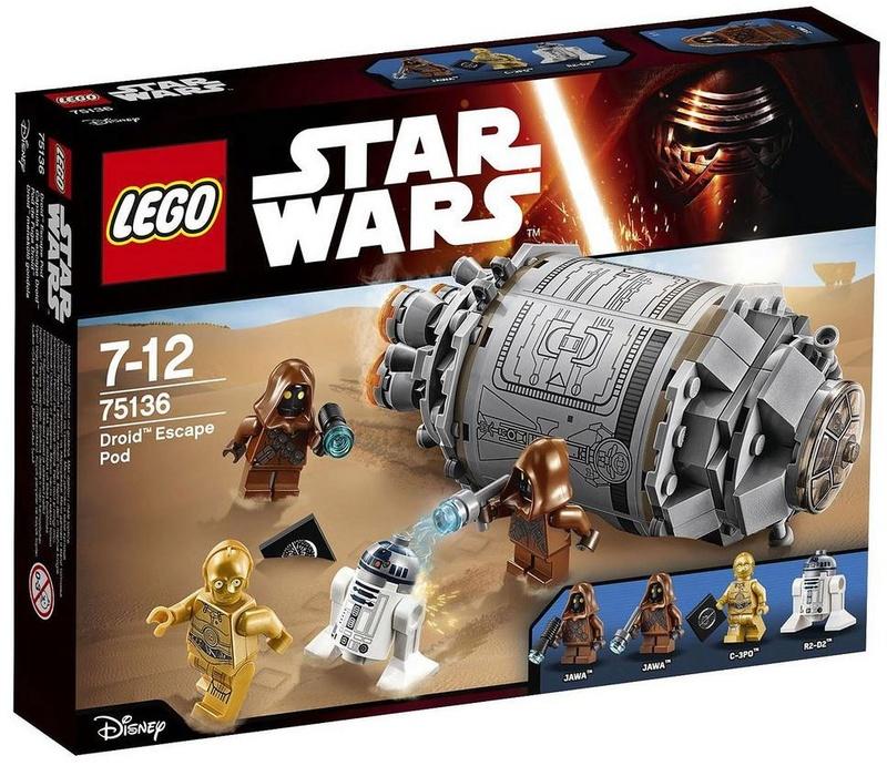 LEGO STAR WARS - 75136 - Droid Escape Pod 75136_10