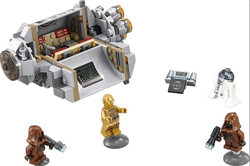 LEGO STAR WARS - 75136 - Droid Escape Pod 75136_11