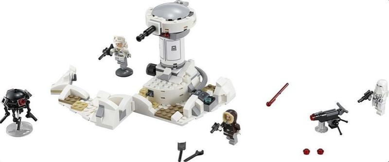 LEGO STARWARS - 75138 Hoth Attack 75138_11