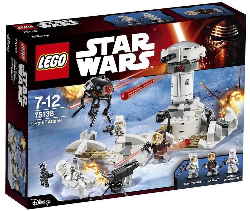 LEGO STARWARS - 75138 Hoth Attack 75138_12