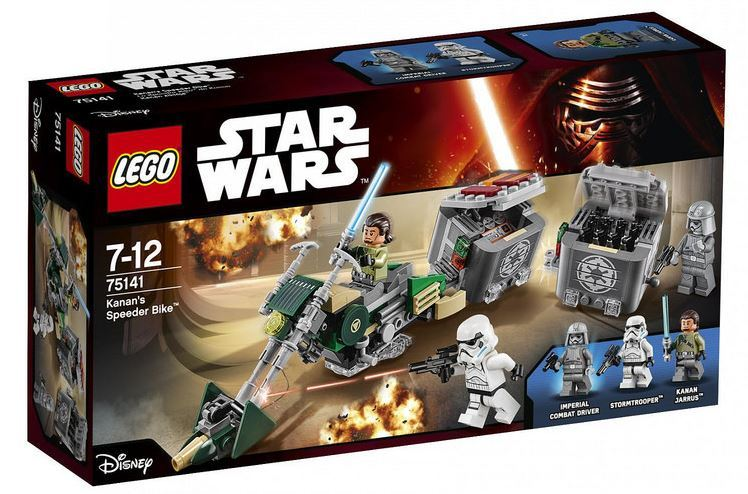 LEGO STAR WARS REBELS - 75141 Kanan's Speeder Bike 75141_10
