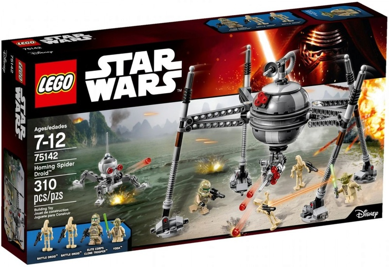 LEGO STARWARS - 75142 Homing Spider Droid 75142-10