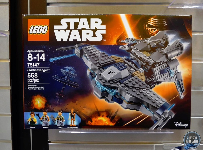 LEGO STAR WARS - 75147 - StarScavenger 75147_10