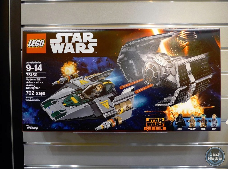 LEGO STAR WARS REBELS - 75150 - Vader's TIE VS A-Wing 75150_10