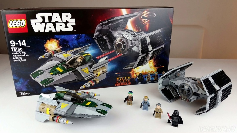 LEGO STAR WARS REBELS - 75150 - Vader's TIE VS A-Wing 75150_15