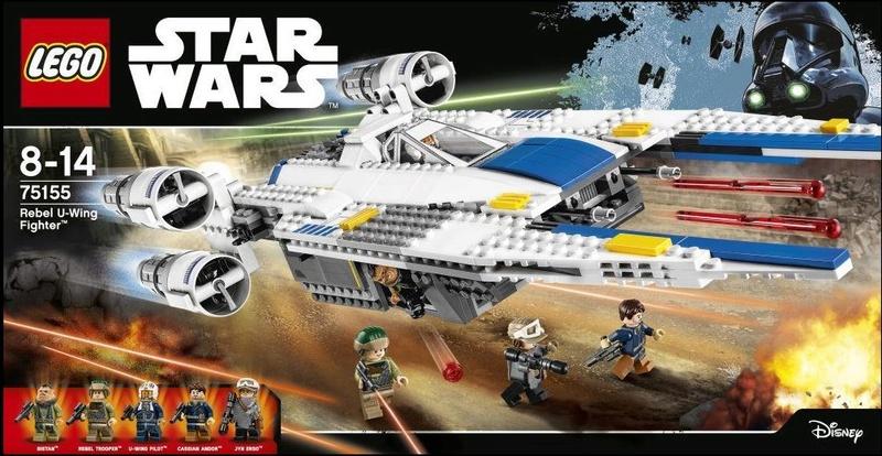 LEGO STAR WARS - 75155 - Rebel U-Wing Fighter 75155_12
