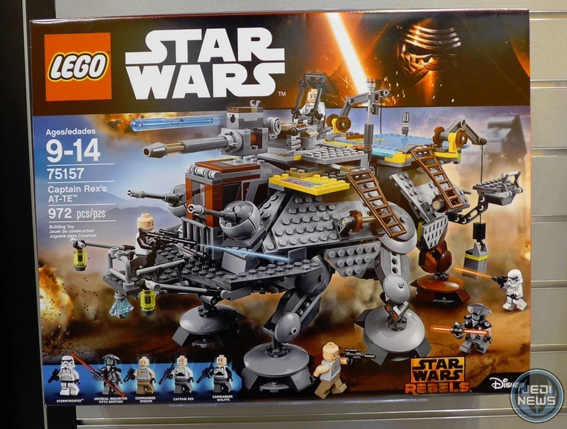 LEGO STAR WARS REBELS - 75157 - Captain REX's AT-TE 75157_11