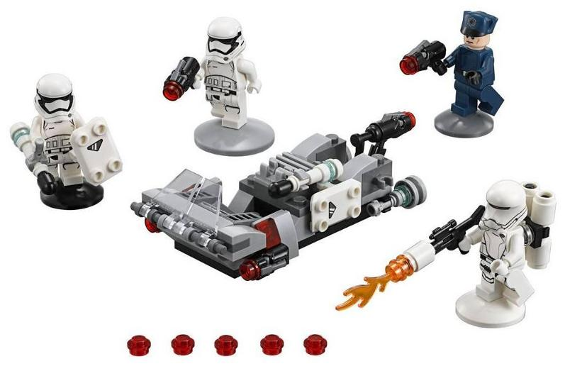 LEGO STAR WARS - 75166 - First Order Transport Speeder Pack 75166_10