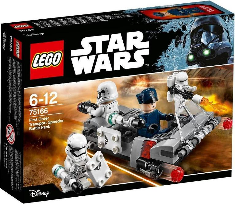 LEGO STAR WARS - 75166 - First Order Transport Speeder Pack 75166_11