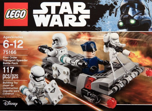 LEGO STAR WARS - 75166 - First Order Transport Speeder Pack 75166_12