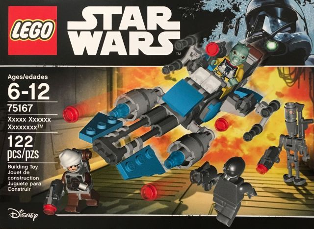 LEGO STAR WARS - 75167 - Bounty Hunter Speeder Bike Pack 75167_10