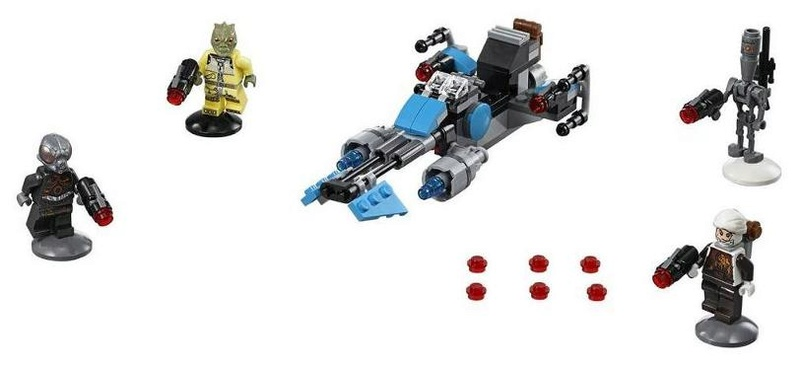 LEGO STAR WARS - 75167 - Bounty Hunter Speeder Bike Pack 75167_11