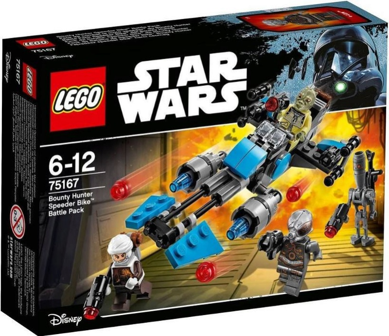 LEGO STAR WARS - 75167 - Bounty Hunter Speeder Bike Pack 75167_12