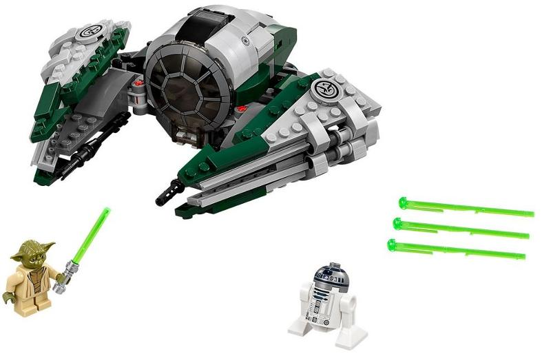 LEGO STAR WARS - 75168 - Yoda's Jedi Starfighter 75168_10