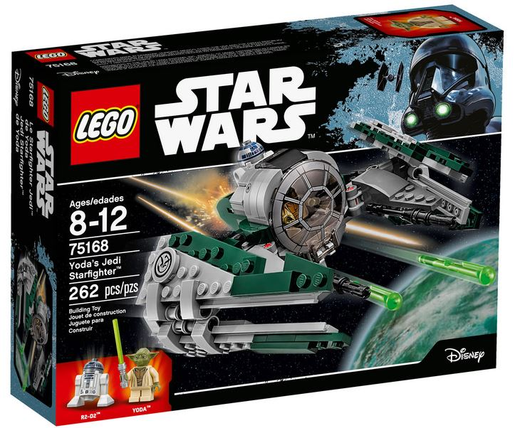 LEGO STAR WARS - 75168 - Yoda's Jedi Starfighter 75168_11