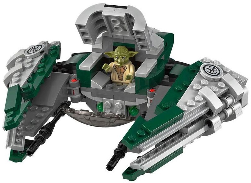LEGO STAR WARS - 75168 - Yoda's Jedi Starfighter 75168_13